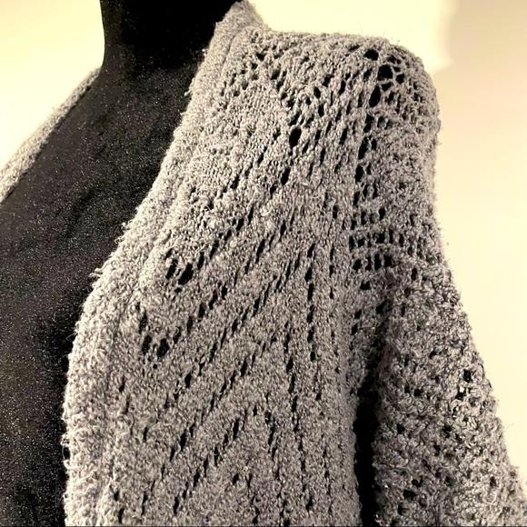 Hollister Grey Knit Cardigan Sweater - Sweet
